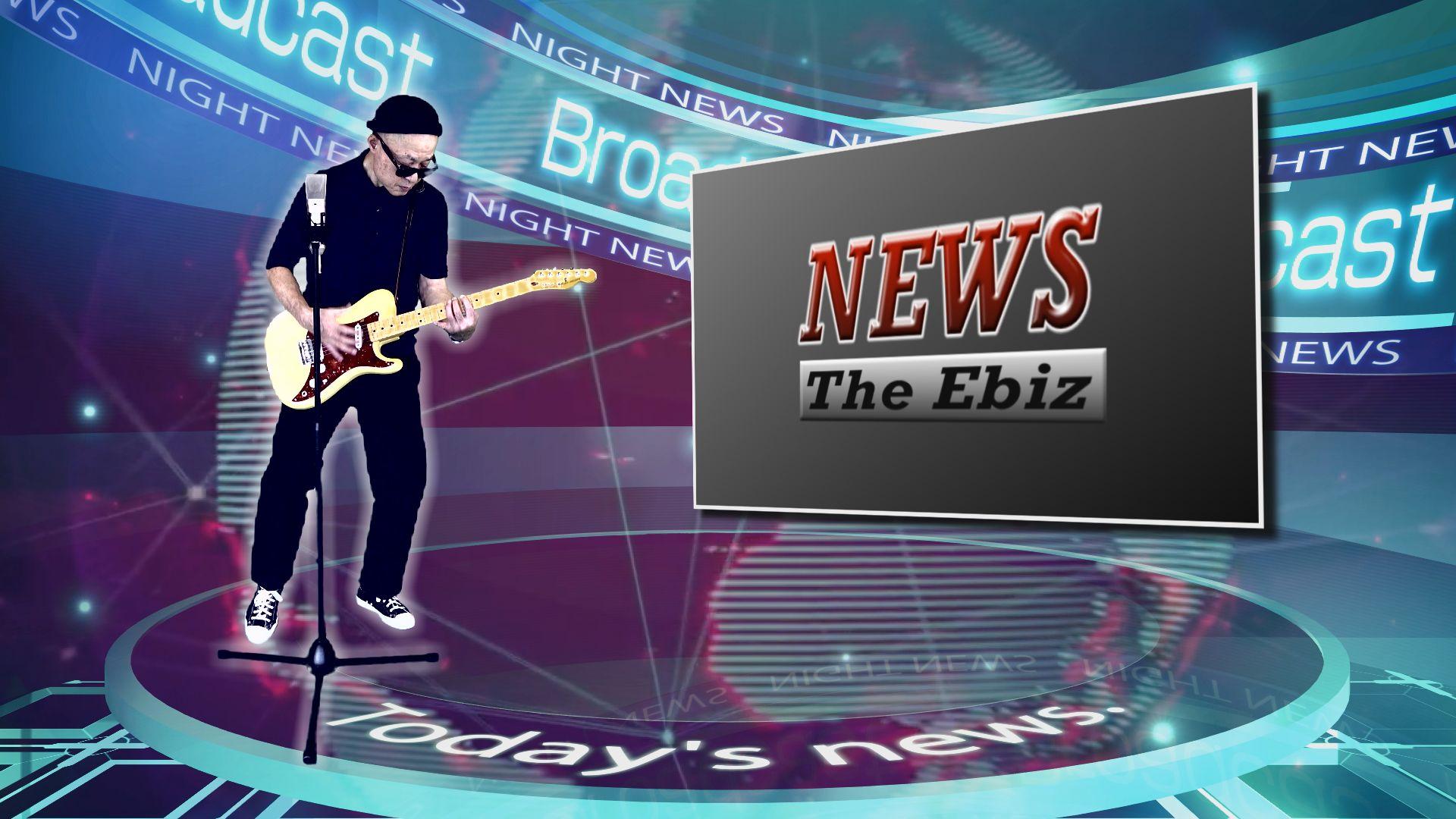 ジ・エビス 『ニュース』 THE EBIZ 『NEWS』「MyRØDEReel2020」