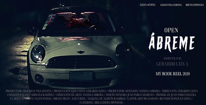 ABREME- Gerardo Leiva - My Rode Reel 2020 #MyRodeReel2020 #mrr2020