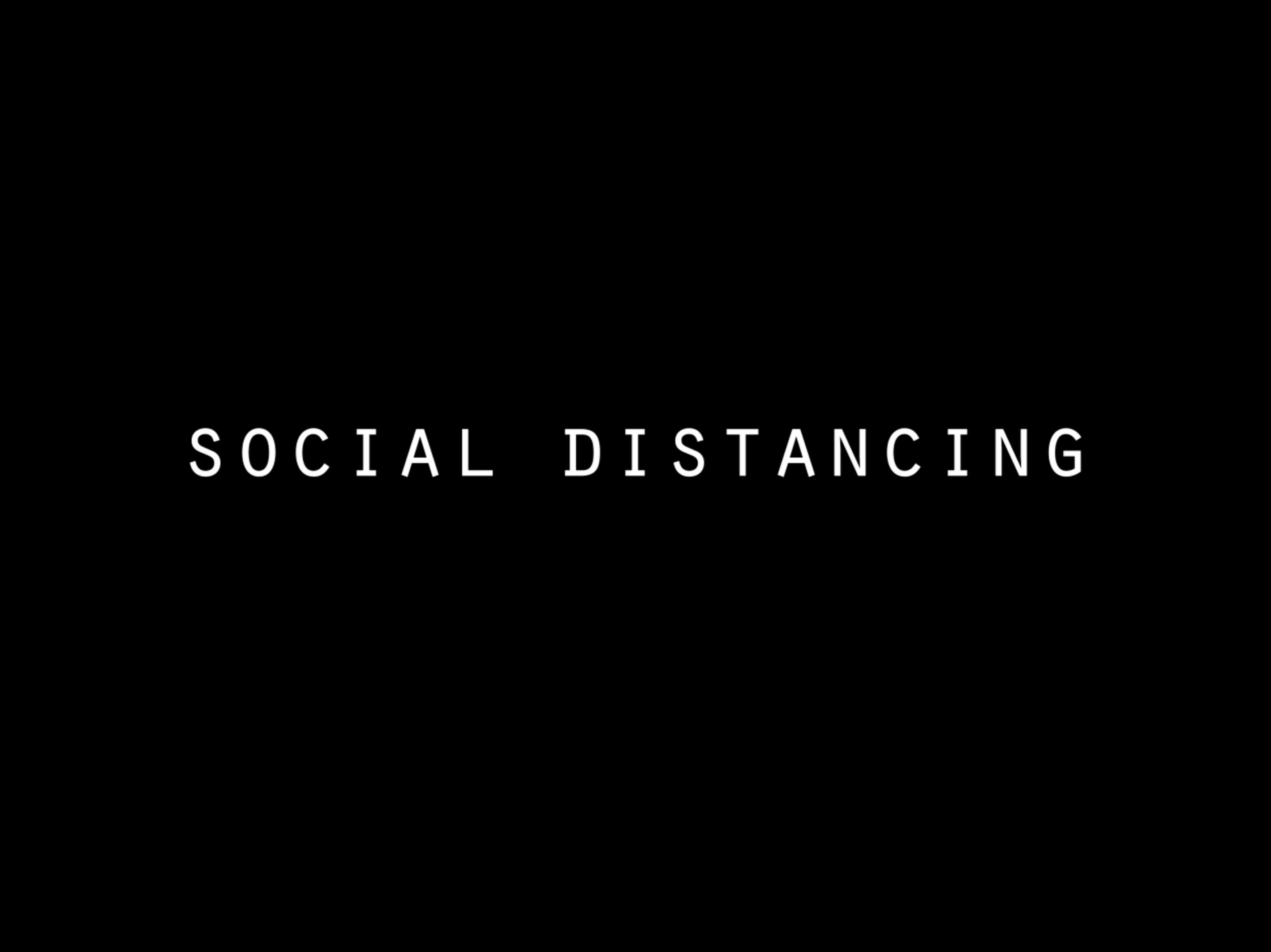 Social Distancing - My RØDE Reel 2020