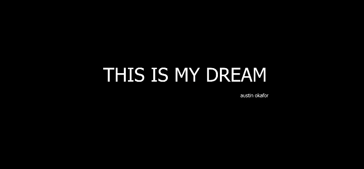 THIS IS MY DREAM [DOCUMENTARY] MY RODE REEL 2020