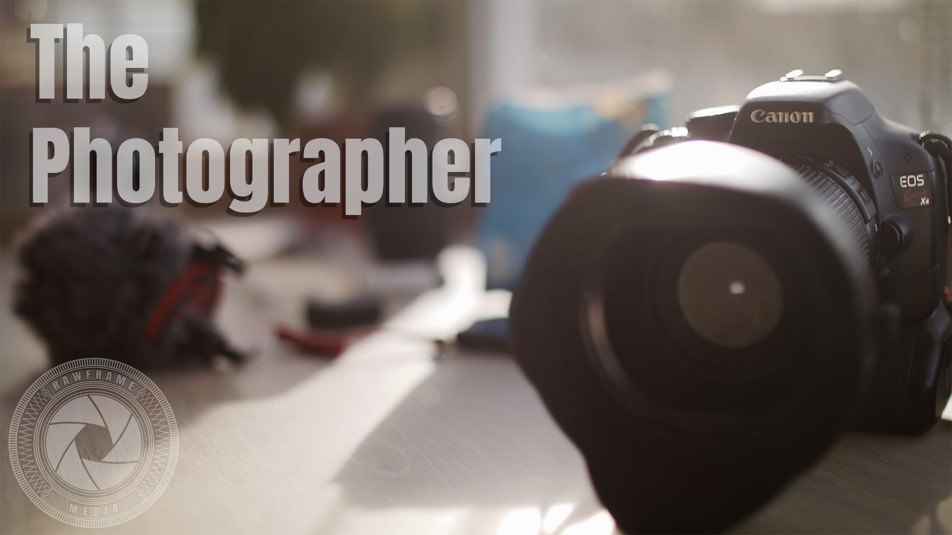 ThePhotographer Short Film My RØDE Reel 2020