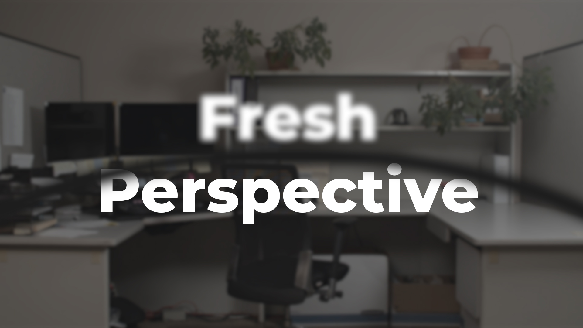 Fresh Perspective - My Rode Reel 2020