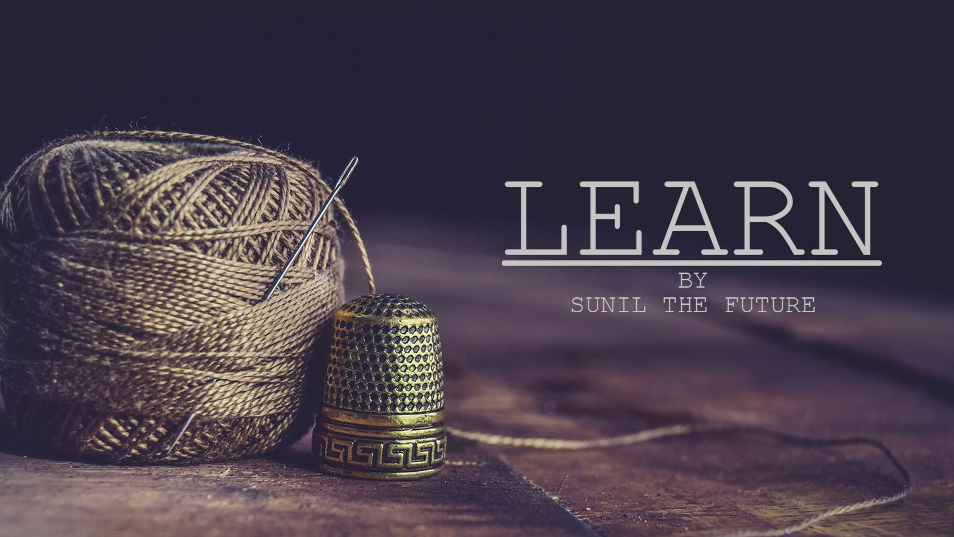 LEARN | MY RODE REEL 2020 | SUNIL THE FUTURE