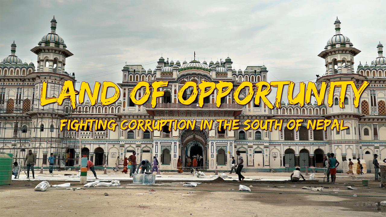 Land of Opportunity - Fighting Corruption in the South of Nepal // My RODE Reel 2020
