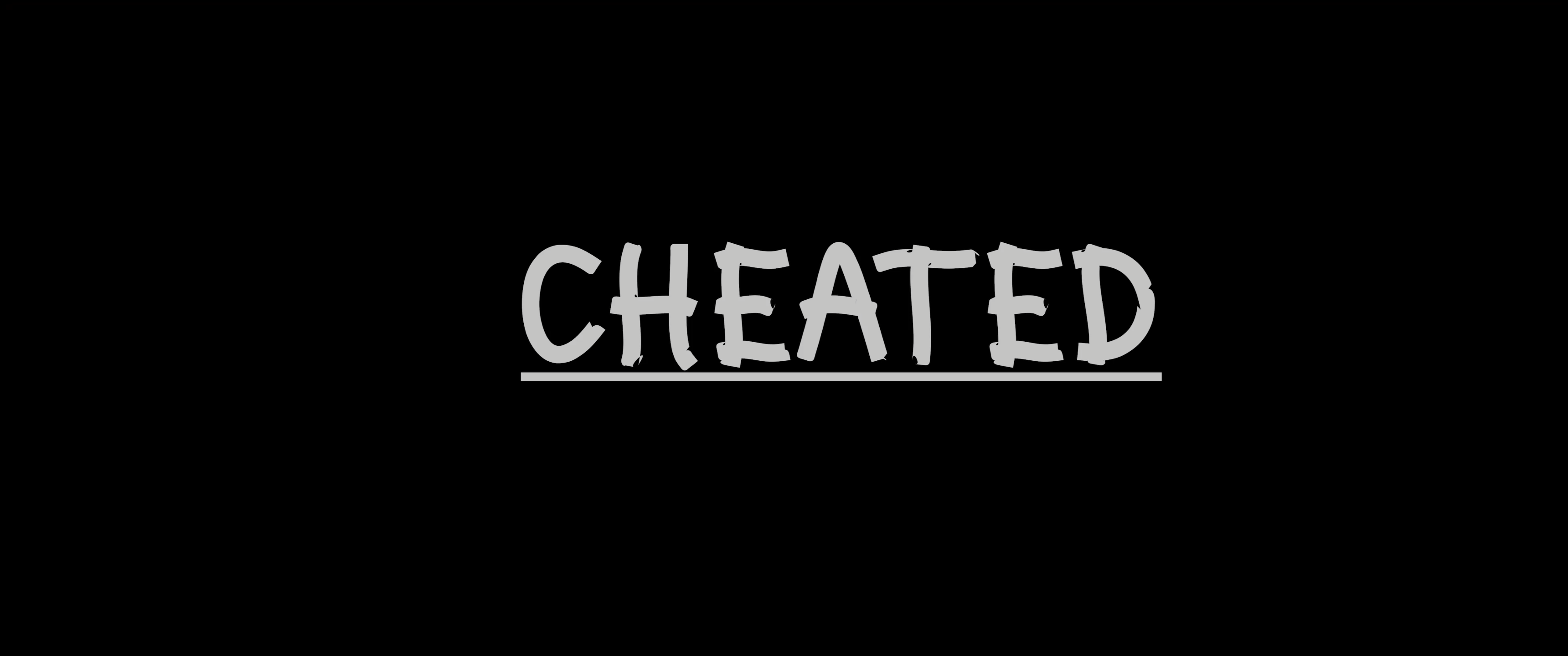 Cheated - My Rode Reel 2020 Entry