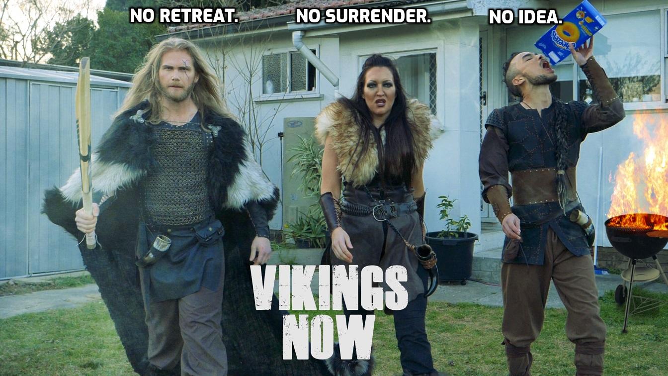 Vikings Now - My RØDE Reel