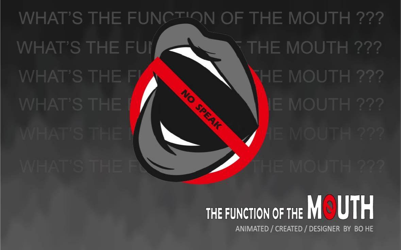 嘴巴的功能--The function of the mouth--My RØDE Reel 2020