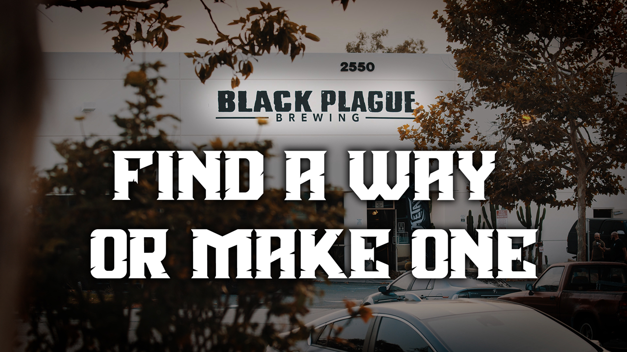My Rode Reel 2020: Find a Way or Make One - Black Plague Brewing Documentary
