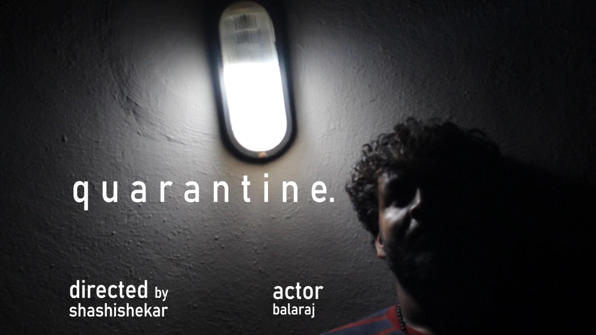 quarantine | MyRodeReel 2020 | Short film