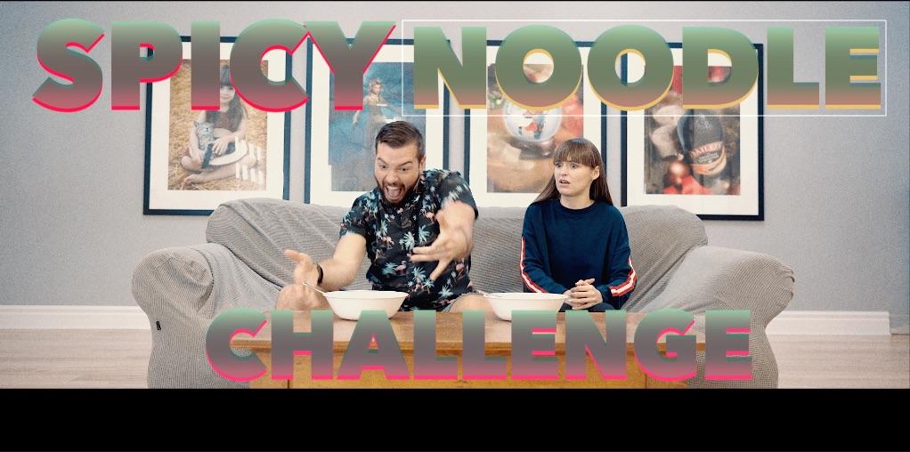 SPICY NOODLE CHALLENGE! I My RØDE Reel 2020